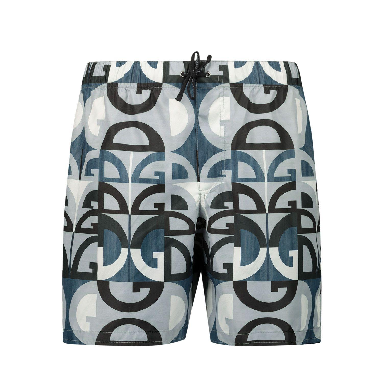 Picture of Dolce & Gabbana L4J818 HSMLN kids swimwear blue