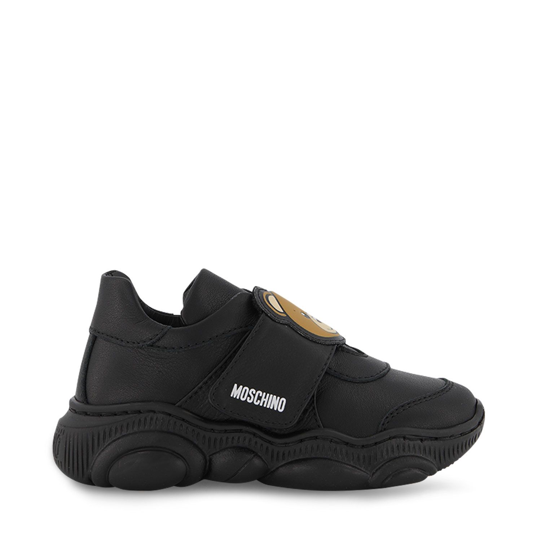 Afbeelding van Moschino 68783 kindersneakers zwart