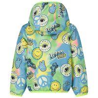 Picture of Kenzo 42507 baby coat fluoro yellow