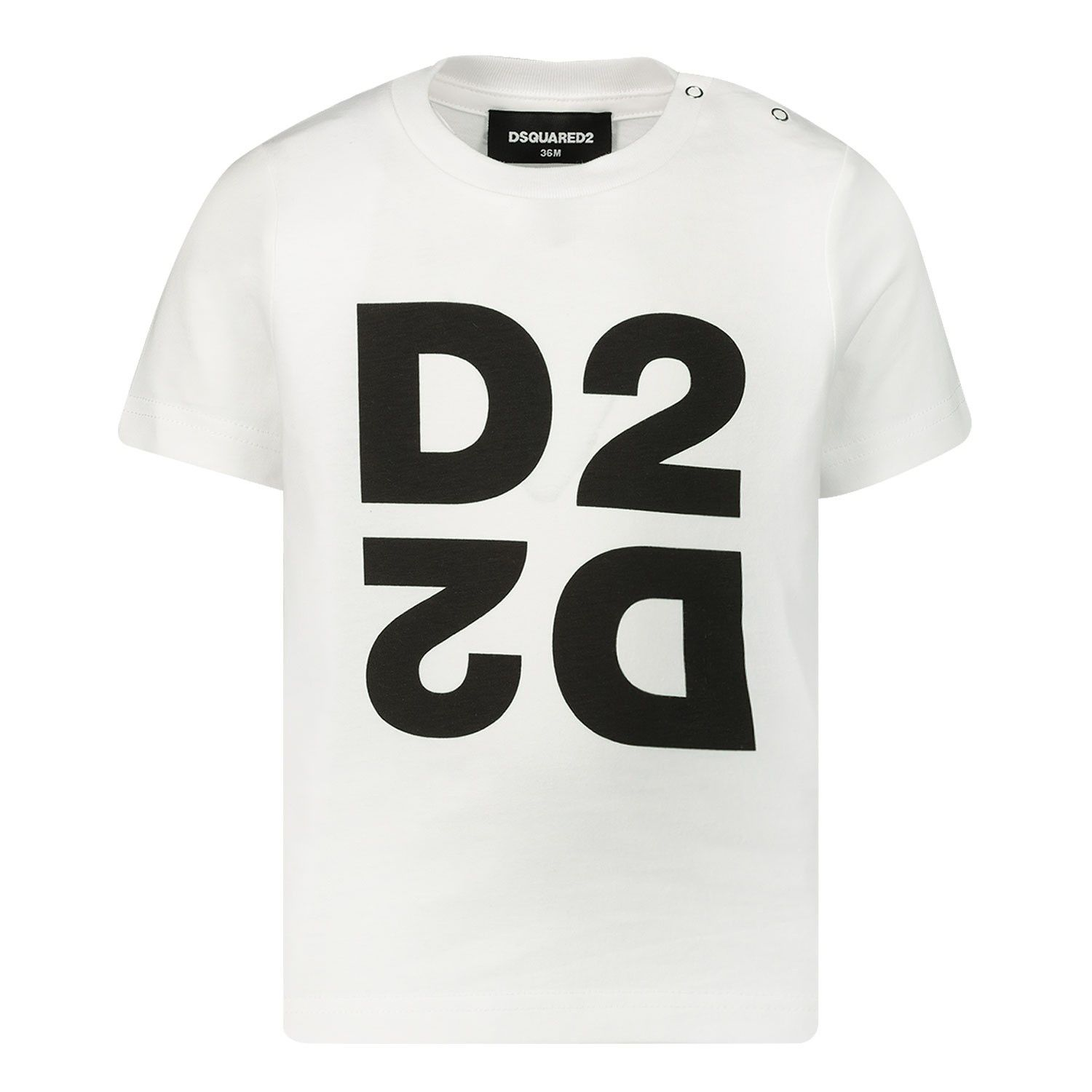 Picture of Dsquared2 DQ044H baby shirt white
