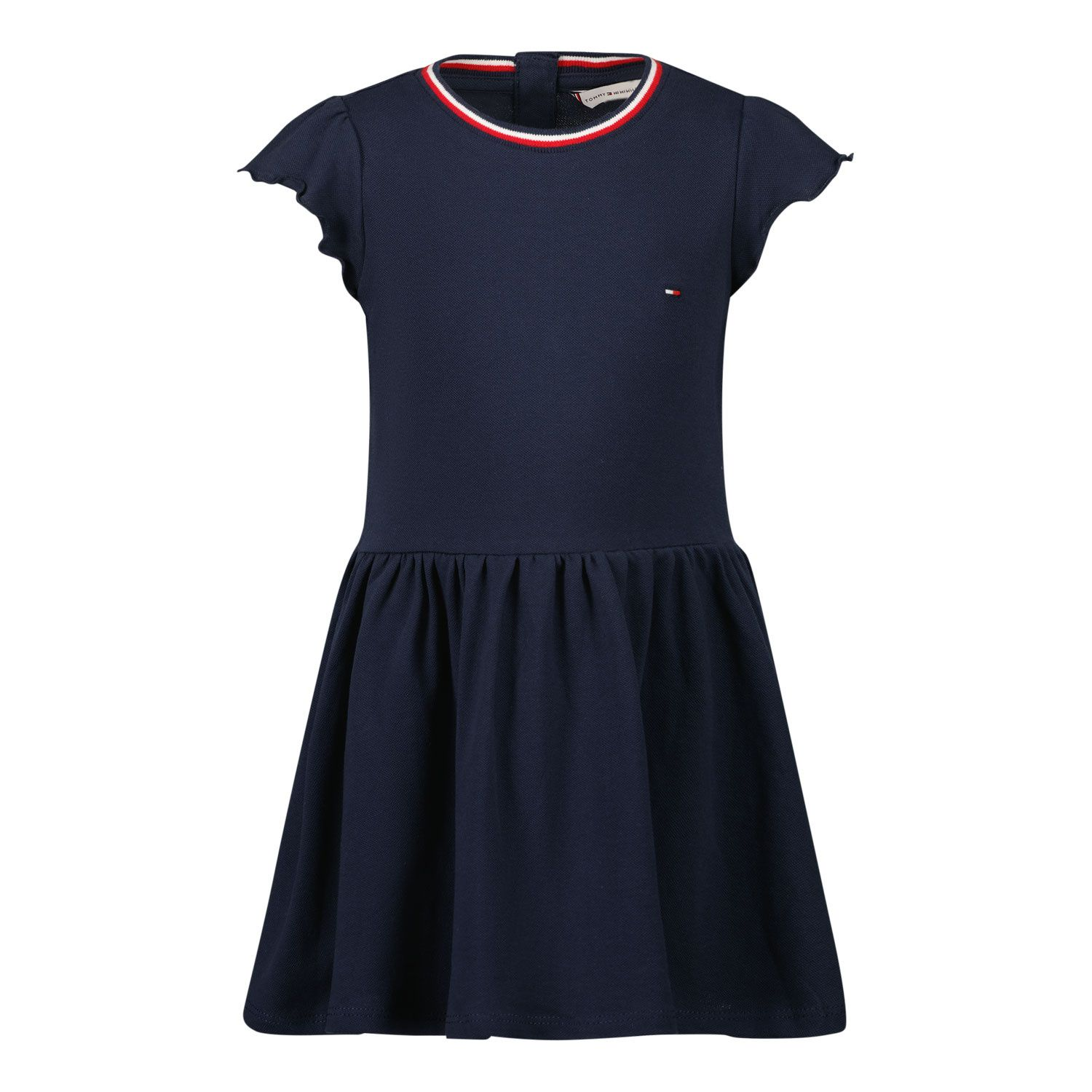 Picture of Tommy Hilfiger KG0KG05832 B baby dress navy