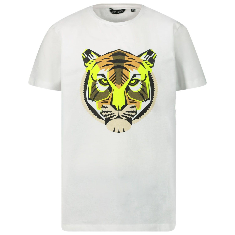 Afbeelding van Antony Morato MKKS00488 kinder t-shirt wit