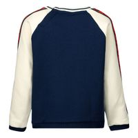 Picture of Gucci 600050 baby sweater navy