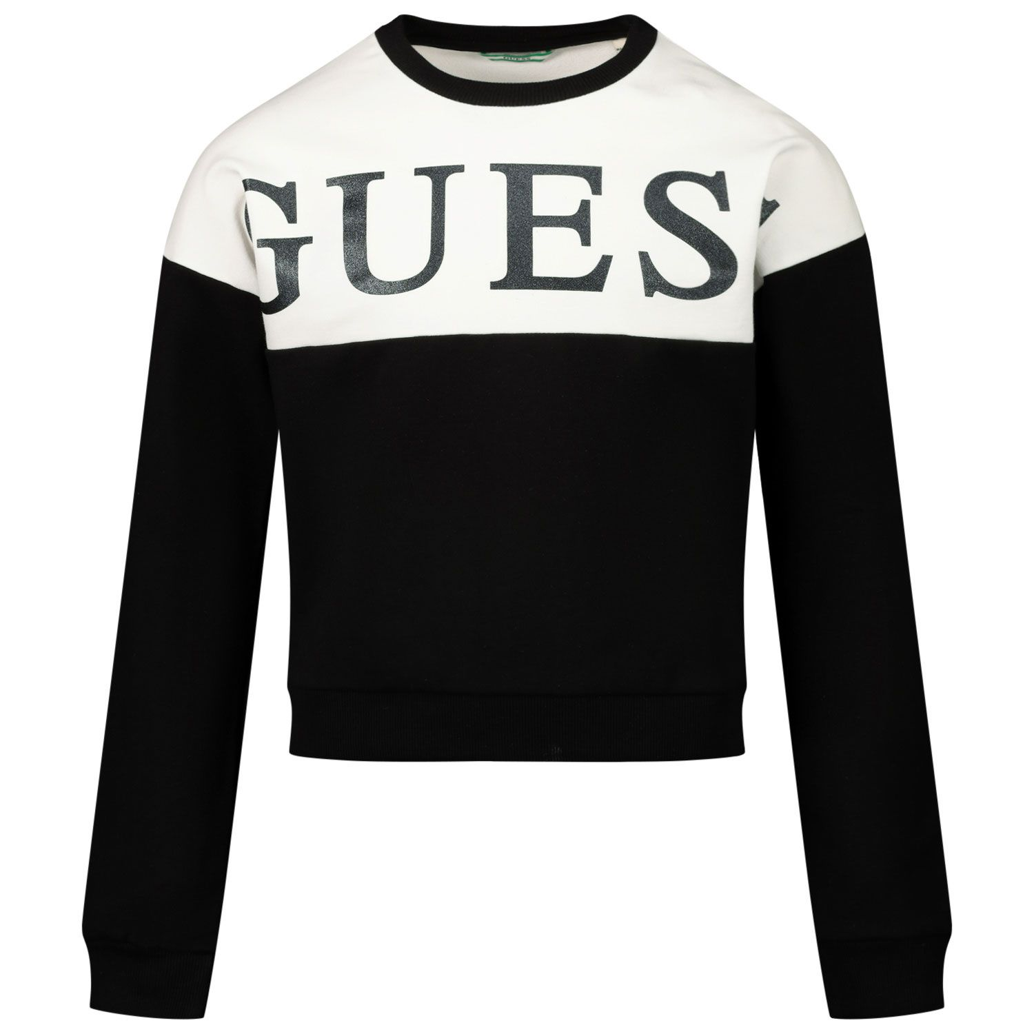 Picture of Guess J0YQ03/KA6V0 kids sweater black