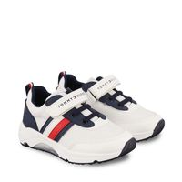 Picture of Tommy Hilfiger 32069 kids sneakers white