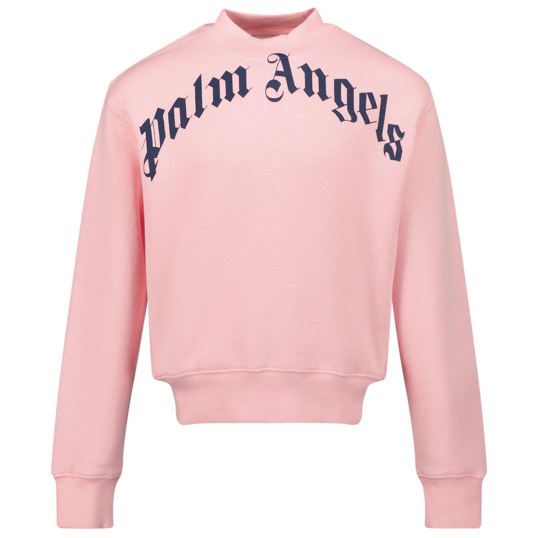 Bild von Palm Angels PGBA001F21FLE001 Kinderpullover Pink