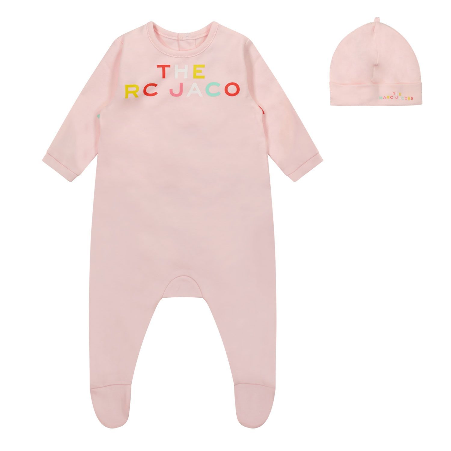 Picture of Marc Jacobs W98133 M baby playsuit light pink