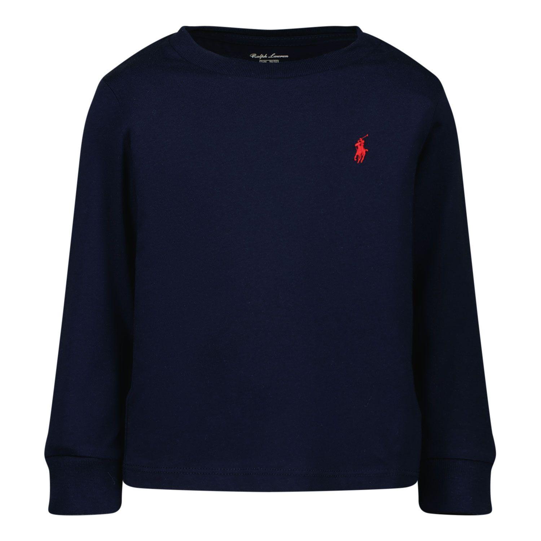 Afbeelding van Ralph Lauren 843804 baby t-shirt navy