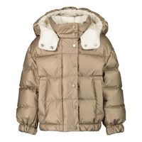 Picture of Moncler 1A58310 V0124 kids jacket gold
