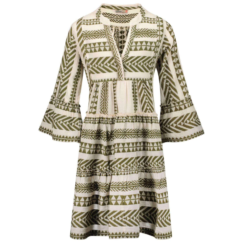 Picture of Devotion 0215011G kids dress khaki