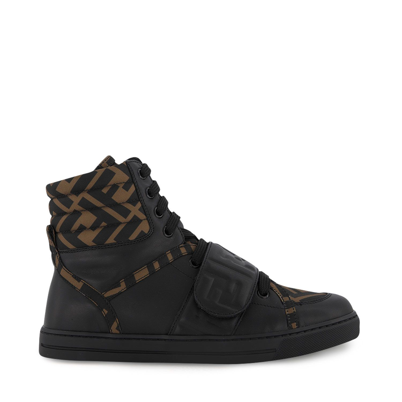 Afbeelding van Fendi JMR350 AD7D kindersneakers zwart