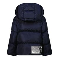 Picture of Dsquared2 DQ0391 baby coat blue