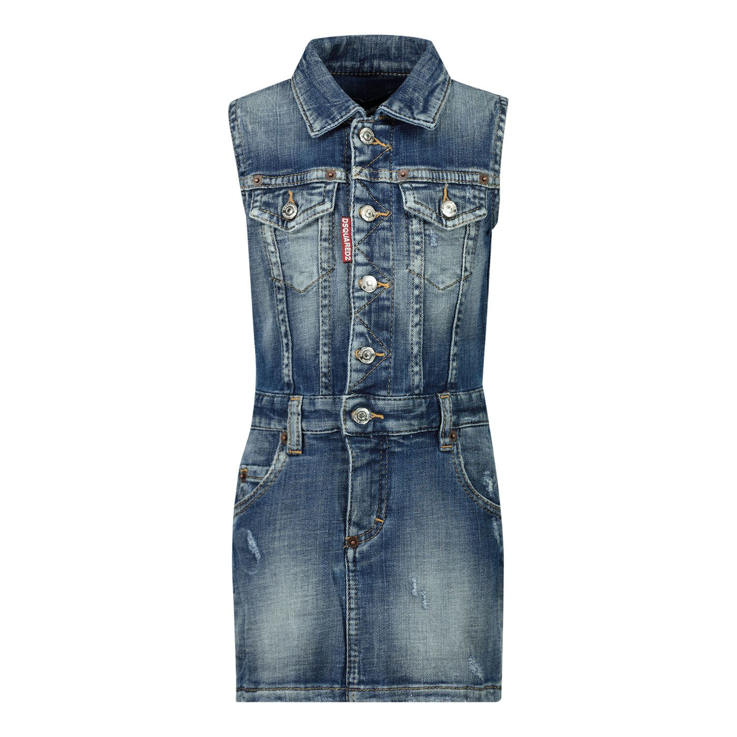 Picture of Dsquared2 DQ0092 baby dress jeans