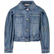 Afbeelding van MonnaLisa 197104A7 kinderjas jeans