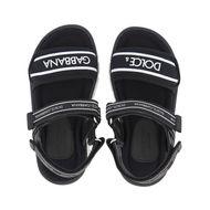 Afbeelding van Dolce & Gabbana DA0970 AO0260 kindersandalen zwart
