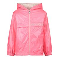 Picture of Moncler 1A71910 baby coat fluoro pink
