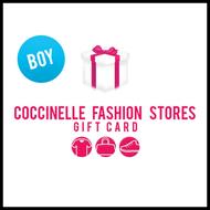 Bild von Coccinelle Geschenkkarte 50euro giftwrap boy