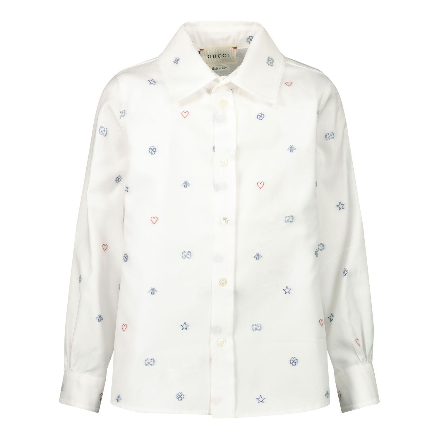 Afbeelding van Gucci 626670 baby blouse off white