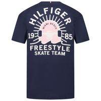 Picture of Tommy Hilfiger KB0KB06530 kids t-shirt navy