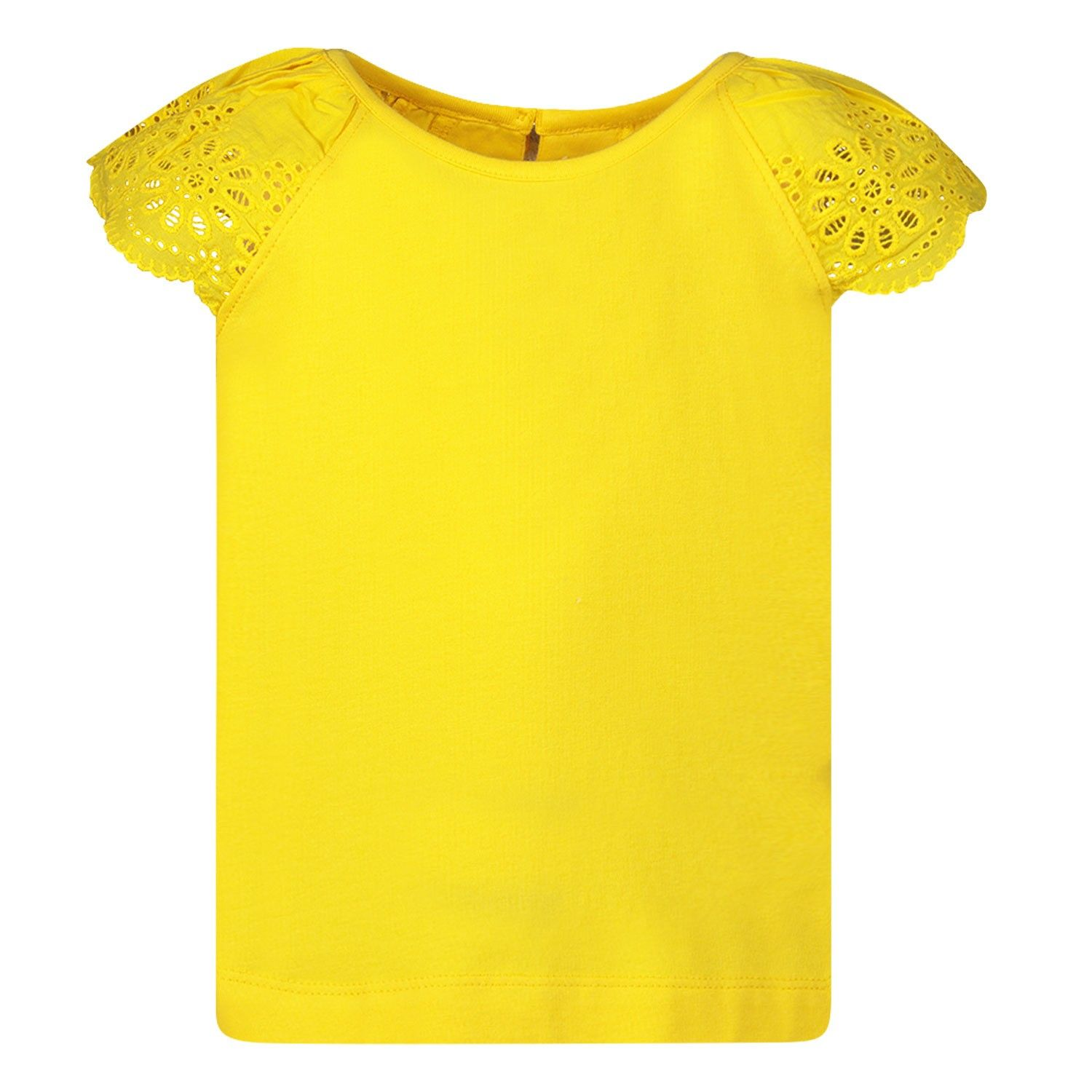 Picture of Mayoral 3023 kids t-shirt yellow