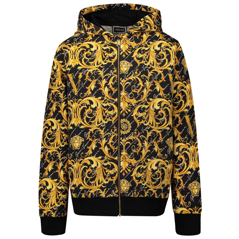 Picture of Versace YC000122 kids vest black