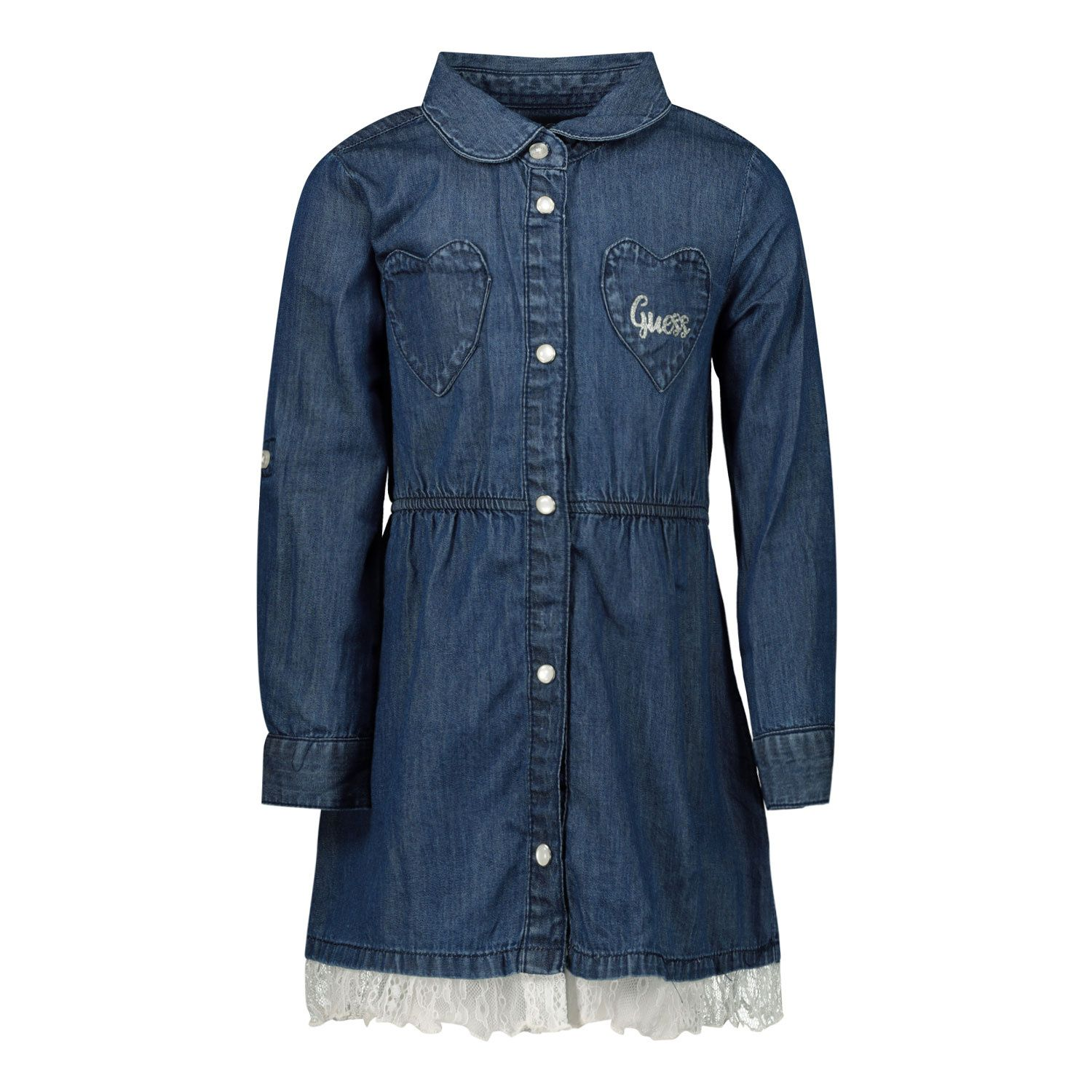 Picture of Guess A0YK08/D3SU0 baby dress jeans