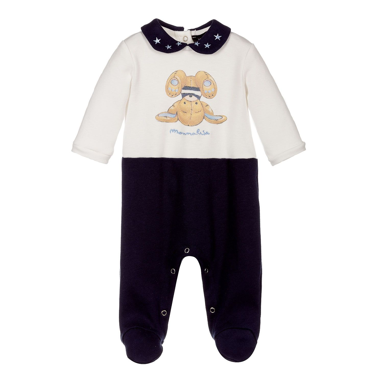 Afbeelding van MonnaLisa 228507 baby joggingpak navy