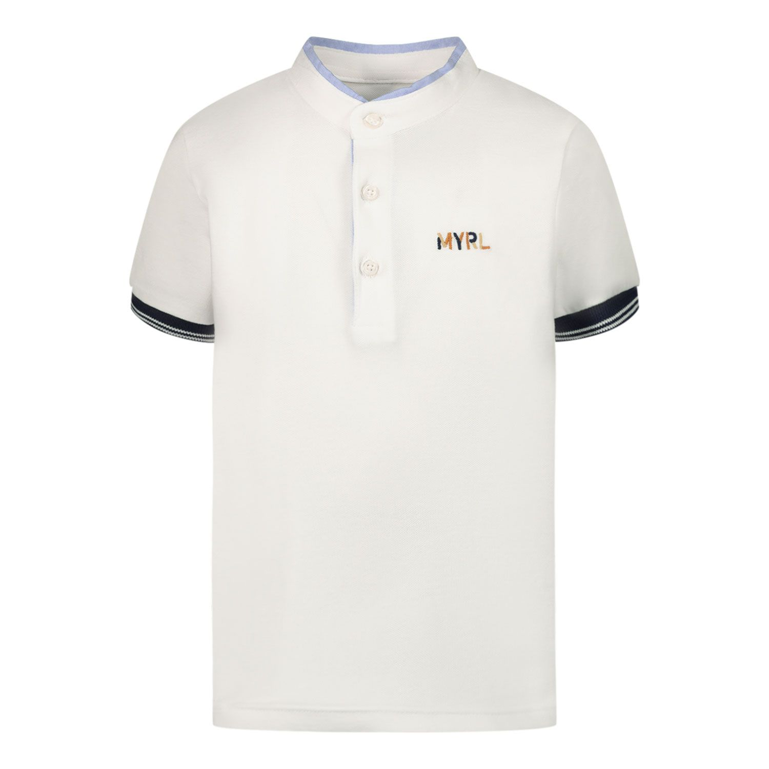 Picture of Mayoral 1102 baby poloshirt white