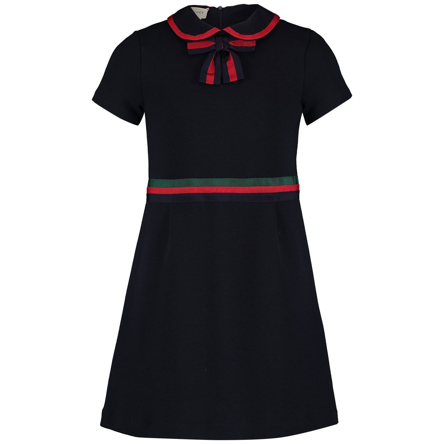 Picture of Gucci 518555 kids dress navy
