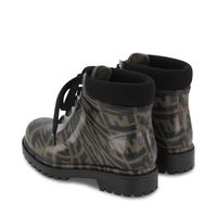 Picture of Fendi JMR375 kids boots brown