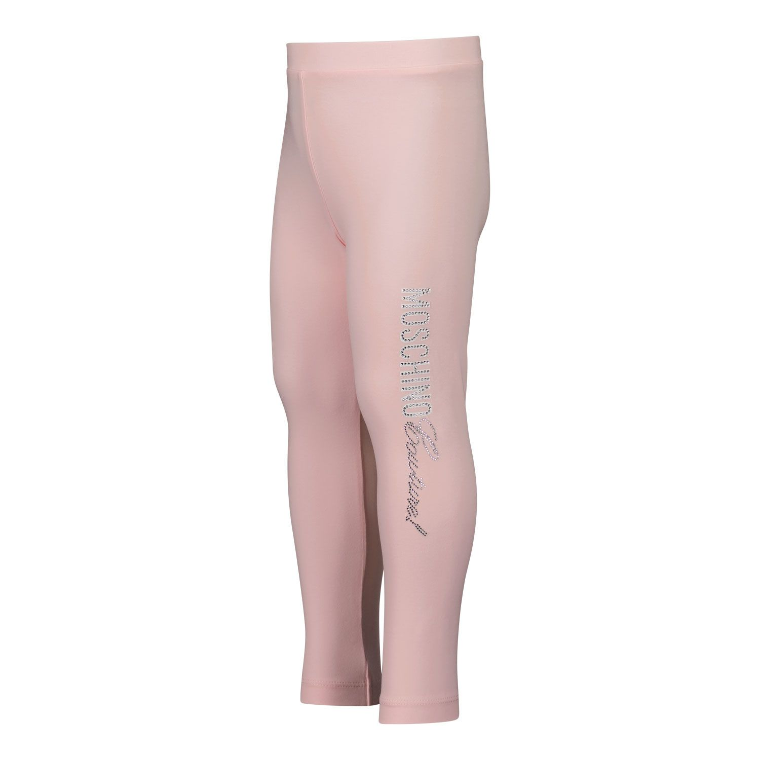 Picture of Moschino MEP02N baby legging light pink