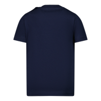 Picture of Dsquared2 DQ0552 baby shirt navy