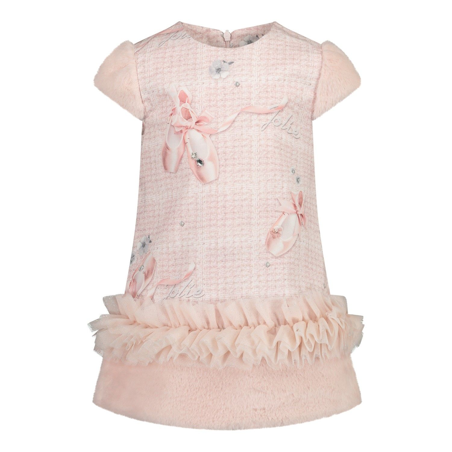 Picture of Lapin 202E3219 baby dress light pink