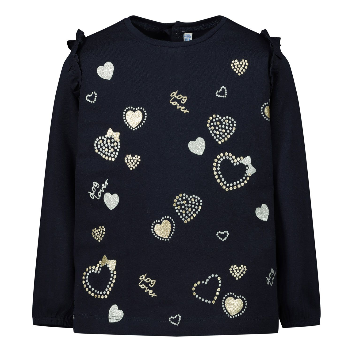 Picture of Mayoral 2056 baby shirt navy