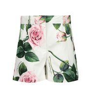 Afbeelding van Dolce & Gabbana L22Q24 / HS5GG baby shorts wit