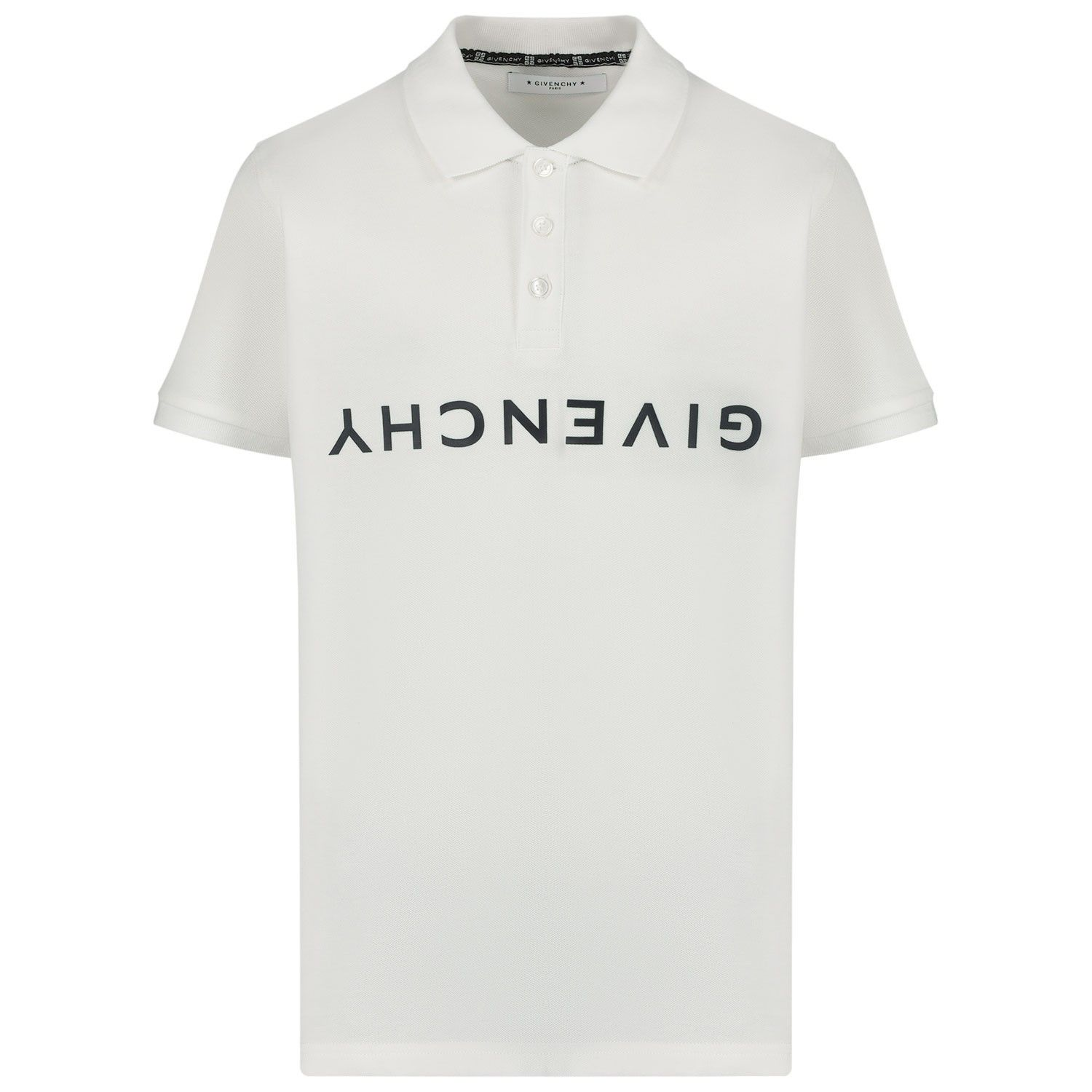 Afbeelding van Givenchy H25163 kinder polo wit