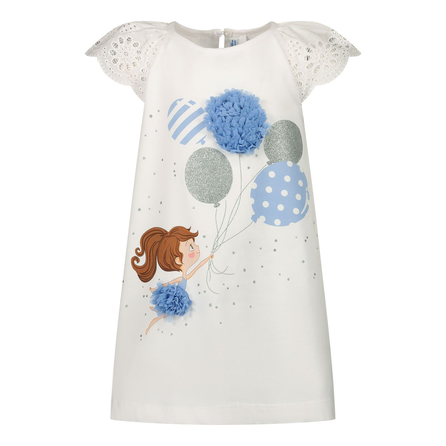Picture of Mayoral 1983 baby dress white