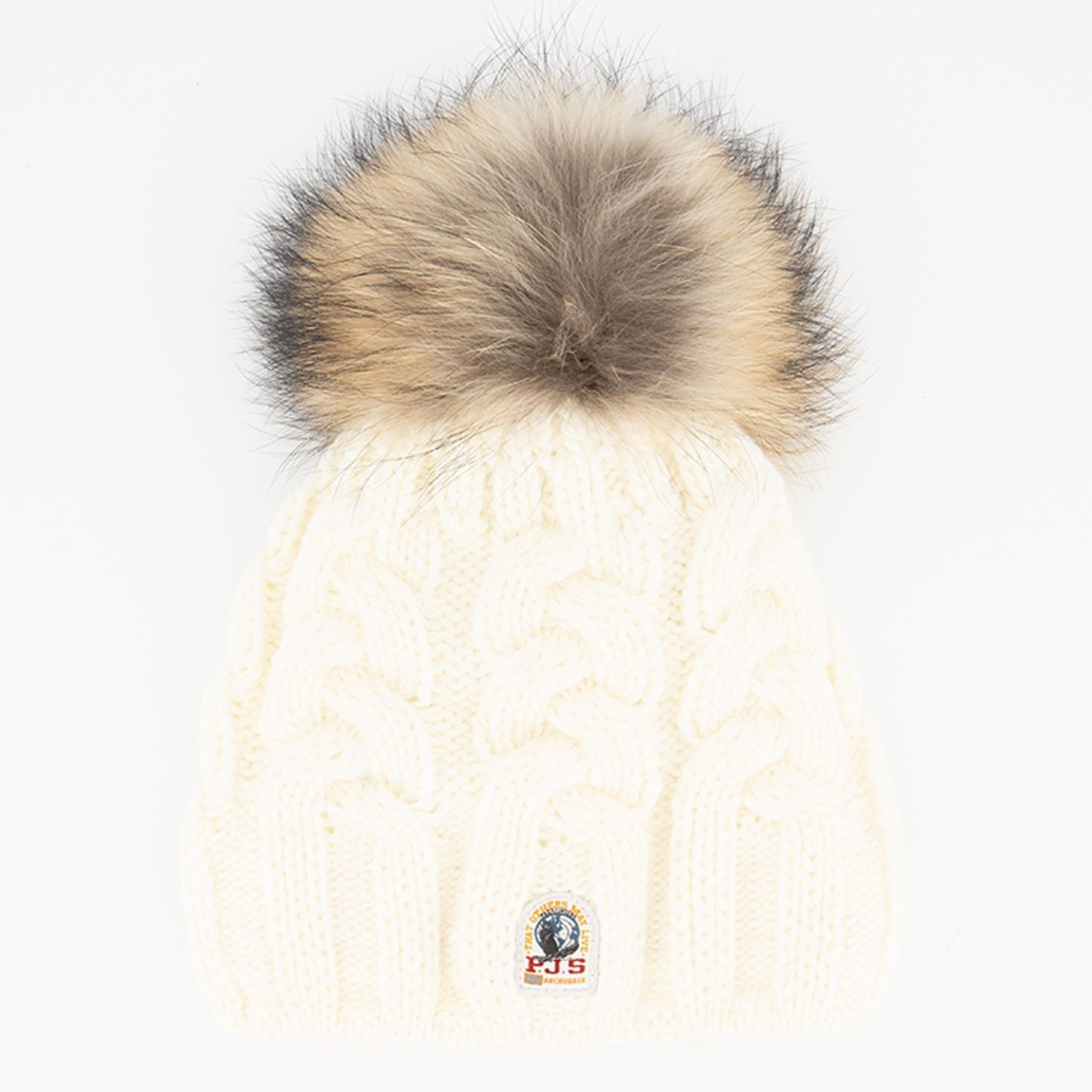 Picture of Parajumpers HA11 kids hat off white