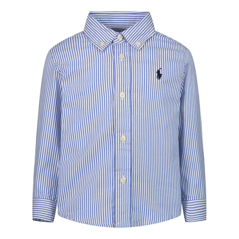 Afbeelding van Ralph Lauren 819240 baby blouse blauw