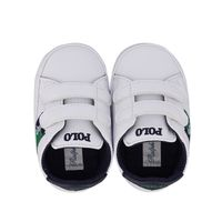Picture of Ralph Lauren ORMOND LAYETTE baby sneakers white