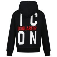 Picture of Dsquared2 DQ0246 kids vest black