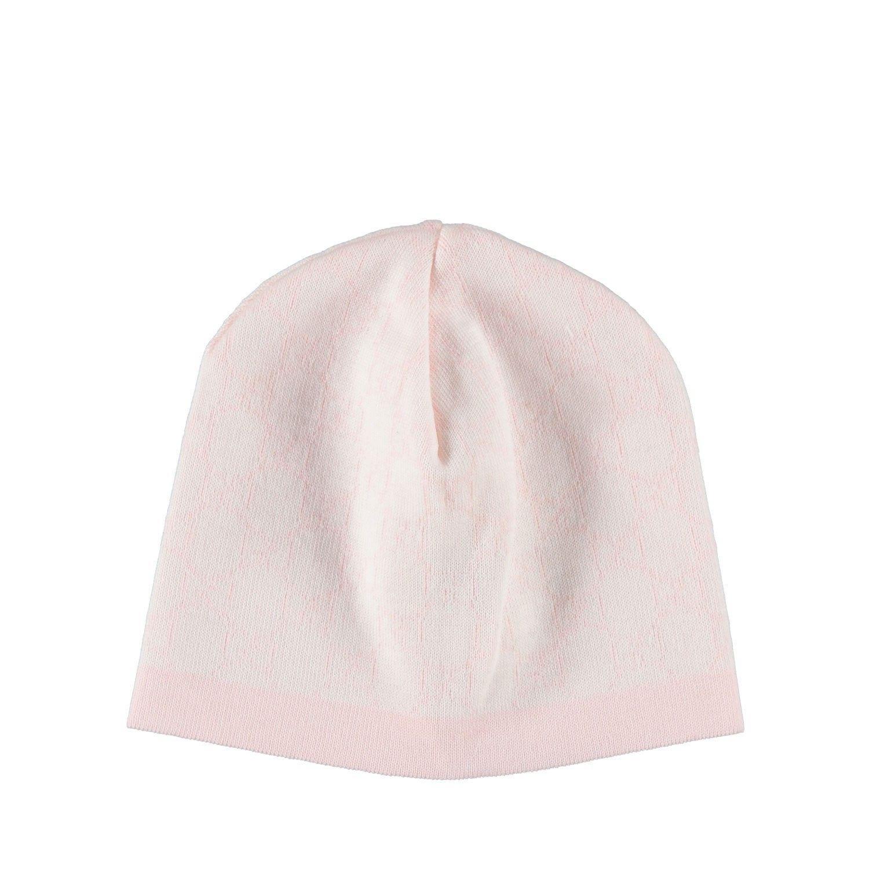 Afbeelding van Gucci 418599 babymutsje licht roze