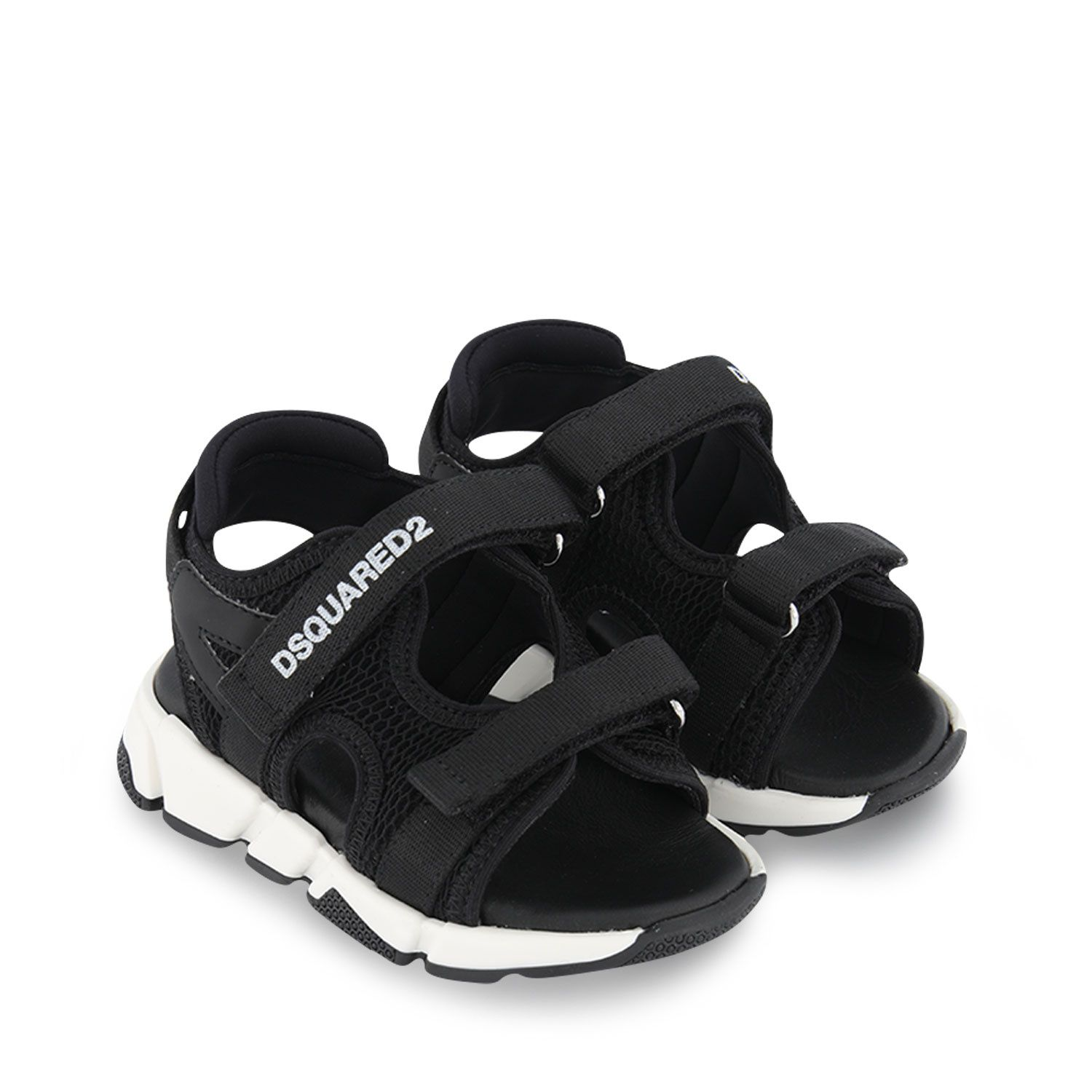 Picture of Dsquared2 66968 kids sandals black