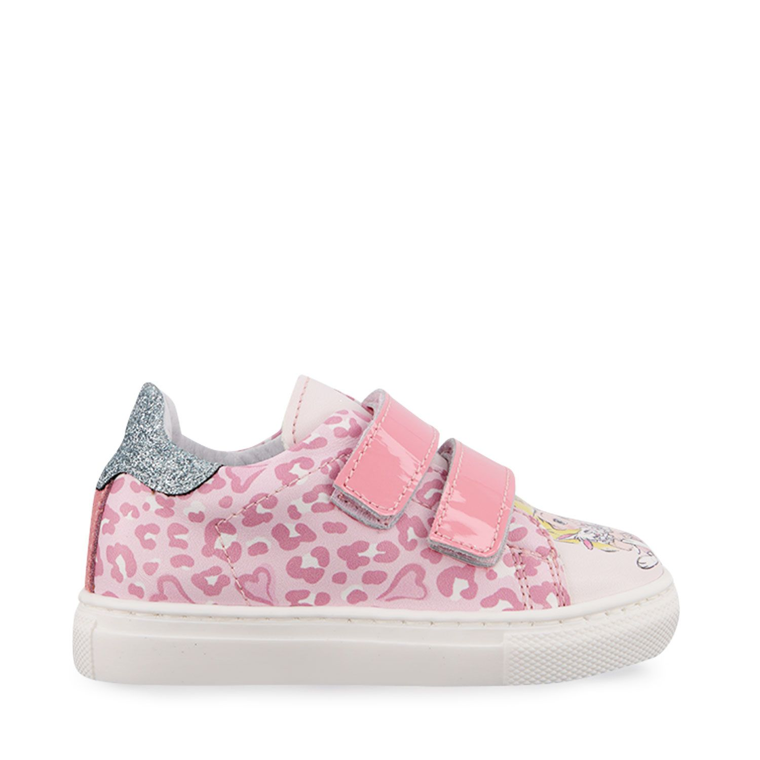 Picture of MonnaLisa 836020 kids sneakers light pink