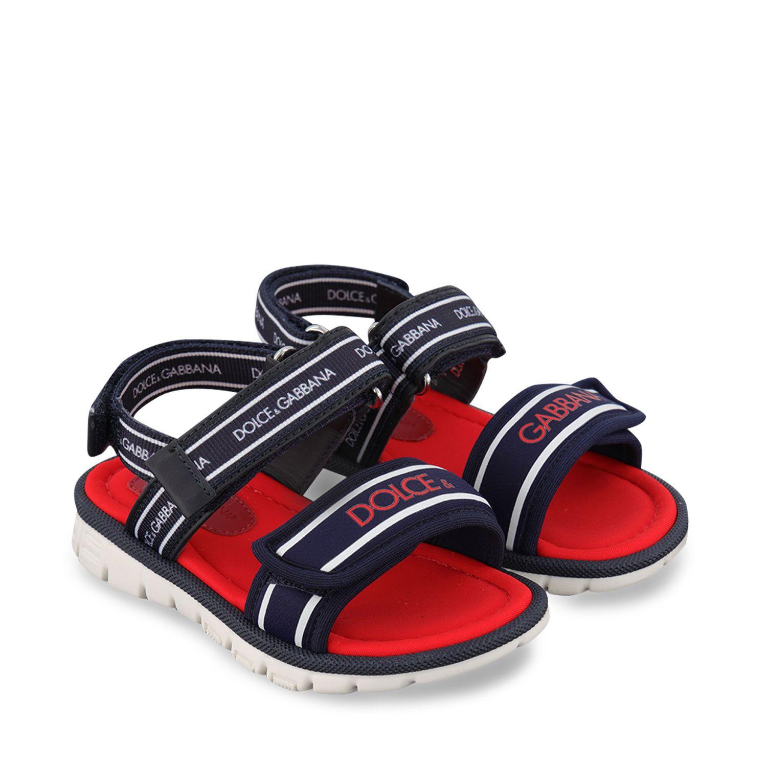 Picture of Dolce & Gabbana DL0066 AO260 kids sandals blue
