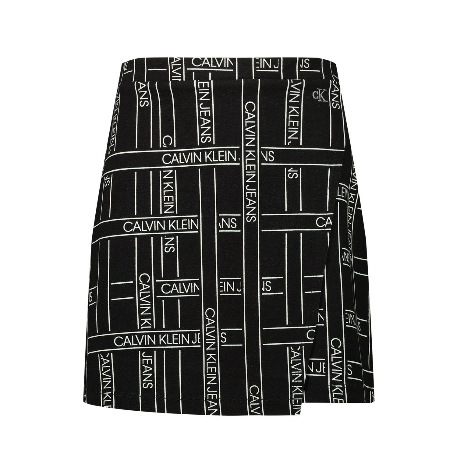 Picture of Calvin Klein IG0IG00723 kids skirt black