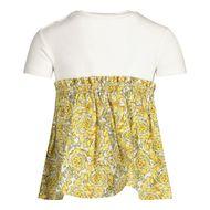 Afbeelding van Versace 1000292 babyjurkje wit/goud