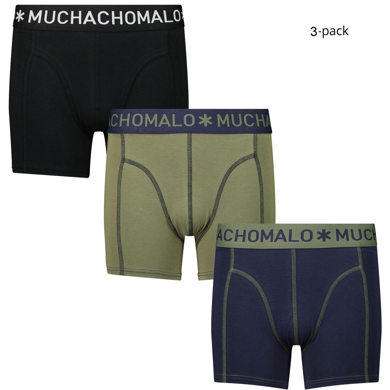 Afbeelding van Muchachomalo 1010JSOLID kinderondergoed blauw