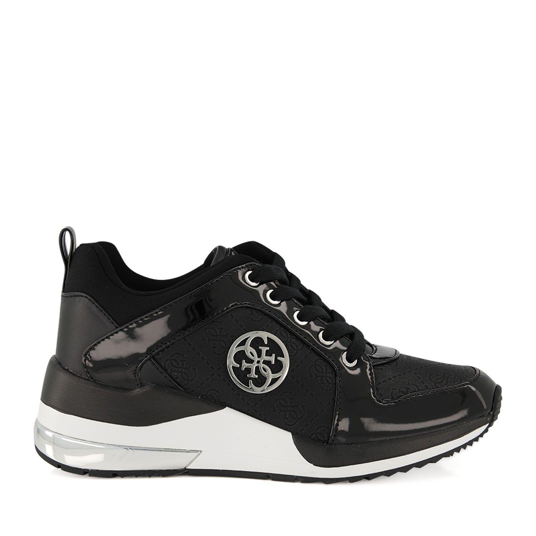 Afbeelding van Guess FL6JRYELE12 dames sneakers zwart