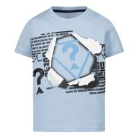 Picture of Guess N1RI09 baby shirt light blue